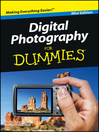 Digital Photography For Dummies<sup></sup> (eBook)